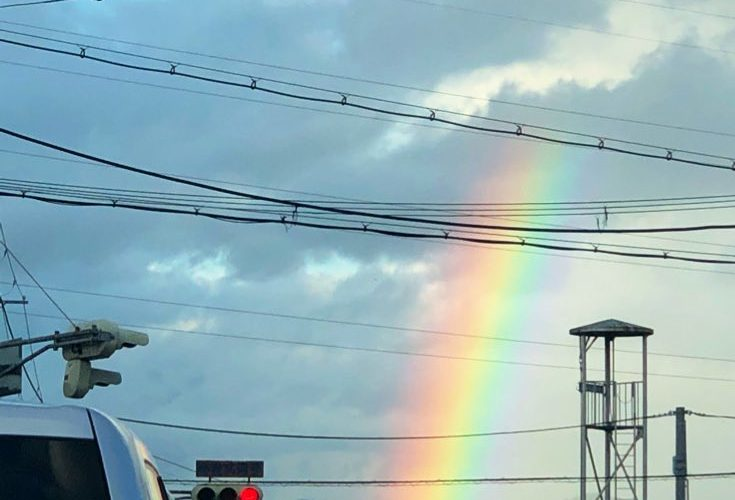 2/16の虹
